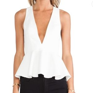 NWT Lovers and Friends Bloom Blouse